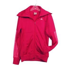 MEDIUM 11/12 YEARS Adidas Jacket Zipper EUC